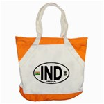 IND - India Euro Oval Accent Tote Bag