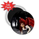 Crimson Wings 2.25  Magnet (100 pack)
