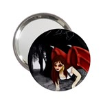 Crimson Wings 2.25  Handbag Mirror