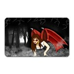 Crimson Wings Magnet (Rectangular)