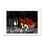 Crimson Wings Sticker A4 (10 pack)