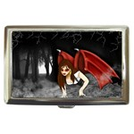 Crimson Wings Cigarette Money Case
