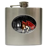 Crimson Wings Hip Flask (6 oz)