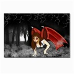 Crimson Wings Postcard 4 x 6  (Pkg of 10)