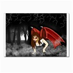 Crimson Wings Postcard 5  x 7