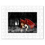 Crimson Wings Jigsaw Puzzle (Rectangular)