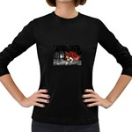 Crimson Wings Women s Long Sleeve Dark T-Shirt