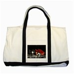 Crimson Wings Two Tone Tote Bag
