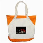 Crimson Wings Accent Tote Bag