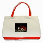 Crimson Wings Classic Tote Bag (Red)