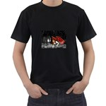 Crimson Wings Black T-Shirt