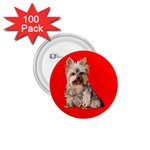 Yorkshire Terrier Yorkie Dog Gifts BR 1.75  Button (100 pack)