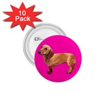 Dachshund Dog Gifts Red BP 1.75  Button (10 pack)