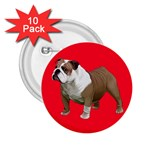 British Bulldog Gifts BR 2.25  Button (10 pack)