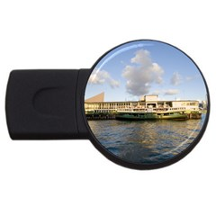 Hong Kong Ferry Usb Flash Drive Round (2 Gb) by swimsuitscccc