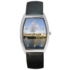 Hong Kong Ferry Barrel Style Metal Watch by swimsuitscccc