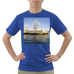Hong Kong Ferry Dark T Shirt by swimsuitscccc