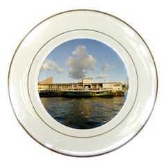 Hong Kong Ferry Porcelain Plate by swimsuitscccc