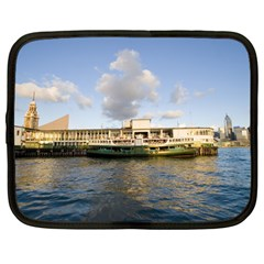 Hong Kong Ferry Netbook Case (large)	 by swimsuitscccc