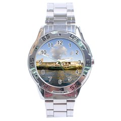 Hong Kong Ferry Stainless Steel Analogue Men's Watch by swimsuitscccc
