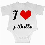 I-Love-My-Bulldog Infant Creeper