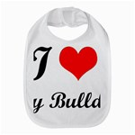 I-Love-My-Bulldog Bib