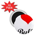 I-Love-My-Bulldog 1.75  Magnet (10 pack)