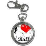 I-Love-My-Bulldog Key Chain Watch
