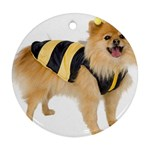 dog-photo Ornament (Round)