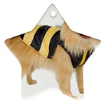 dog-photo Ornament (Star)