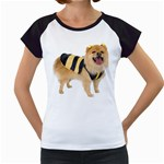 dog-photo Women s Cap Sleeve T
