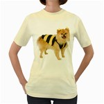 dog-photo Women s Yellow T-Shirt