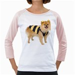 dog-photo Girly Raglan