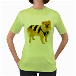 dog-photo Women s Green T-Shirt