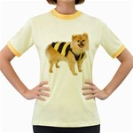 dog-photo Women s Fitted Ringer T-Shirt