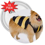 dog-photo 3  Button (10 pack)