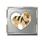 dog-photo Mega Link Heart Italian Charm (18mm)