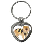 dog-photo Key Chain (Heart)
