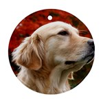 dog-photo cute Ornament (Round)