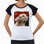 dog-photo cute Women s Cap Sleeve T