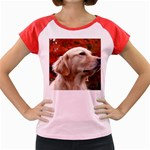 dog-photo cute Women s Cap Sleeve T-Shirt