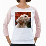 dog-photo cute Girly Raglan