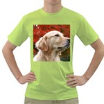 dog-photo cute Green T-Shirt