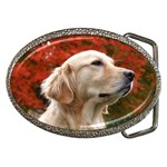 dog-photo cute Belt Buckle