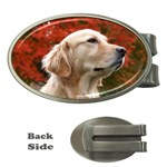 dog-photo cute Money Clip (Oval)