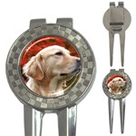 dog-photo cute 3-in-1 Golf Divot