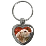 dog-photo cute Key Chain (Heart)