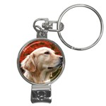dog-photo cute Nail Clippers Key Chain