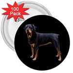Rottweiler Dog Gifts BB 3  Button (100 pack)