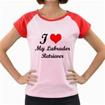 I Love My Labrador Retriever Women s Cap Sleeve T-Shirt
